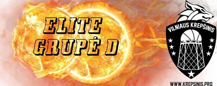 Elite cup D grupės apžvalga