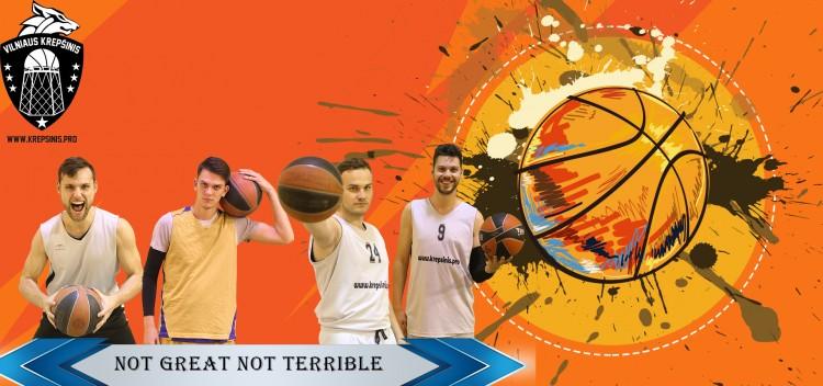 6 lygos aštuntfinalio apžvalga: VK Not Great Not Terrible - M.K.Č.