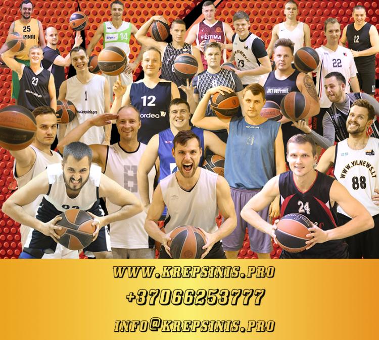 Kviečiame prisijungti prie krepšinio komandos 2020 - 2021 m. sezonui